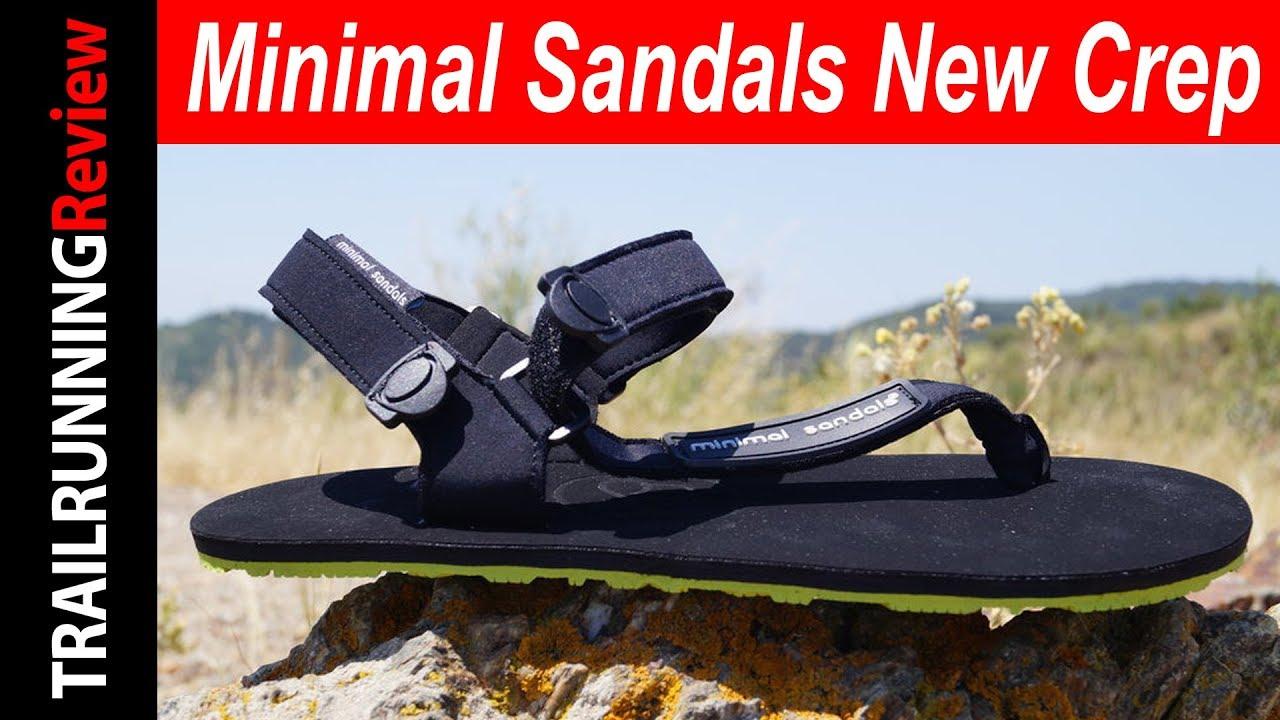 New Crep Minimalistas Sandals Gran Minimal De Las Sandalias Ajuste nk80PwOX