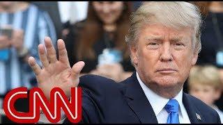 Raining on Trump's military parade