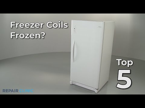 Top Reasons Freezer Coils Are Frozen?