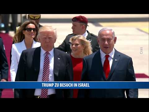 Trump zu Besuch in Israel
