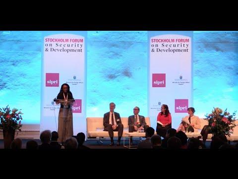 SIPRI Forum Opening Plenary