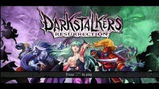 Darkstalkers Resurrection [PS3 Gameplay]