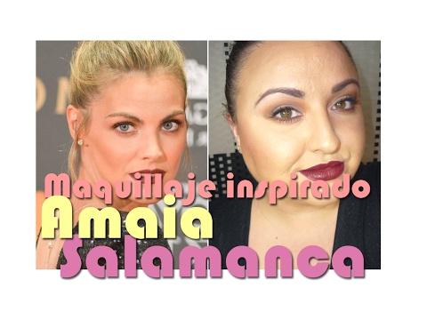Maquillaje inspirado en Amaia Salamanca || Premios Goya 2017