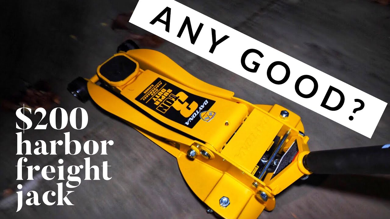 IS IT GARBAGE? Harbor Freight Daytona 3 Ton Jack Review