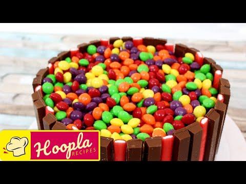 Skittles Birthday Cake Ideas | Cake Recipes by Hoopla Recipes