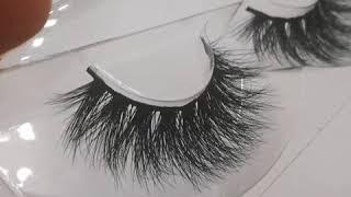 handmade fake lashes makeup false eyelashes 3D mink lashes