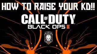 how to get high kd games raise your kd   call of duty black ops 2   33 k d game