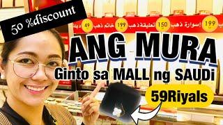 PRESYO NG SAUDI GOLD SA MALL ANG MURA | SAUDI GOLD | Rosh Castillo