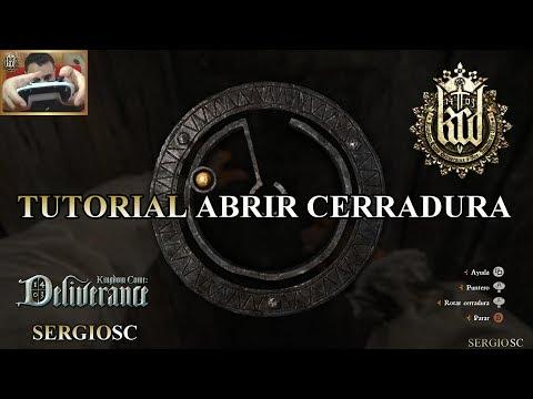 Kingdom Come Deliverance - Tutorial ABRIR CERRADURAS Mando