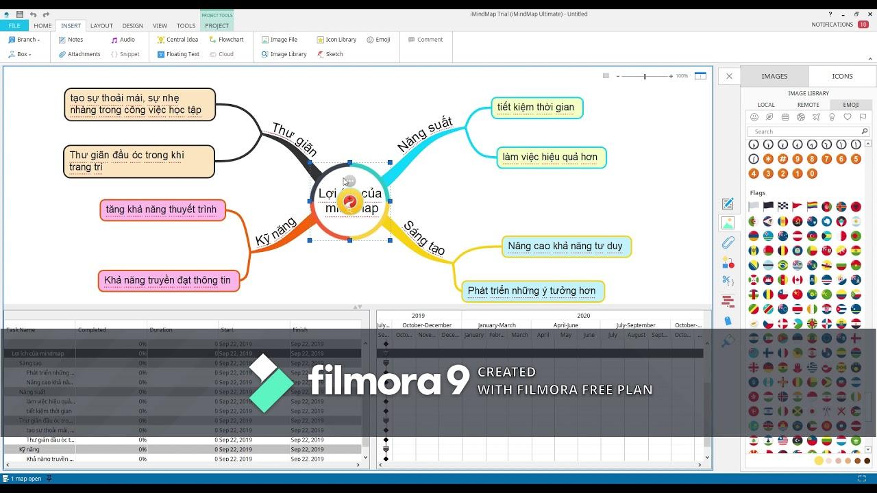 """Hướng dẫn cách vẽ """"sơ đồ tư duy – Mindmapping"""" trên phần mềm máy tính cùng Khôi Duy"""