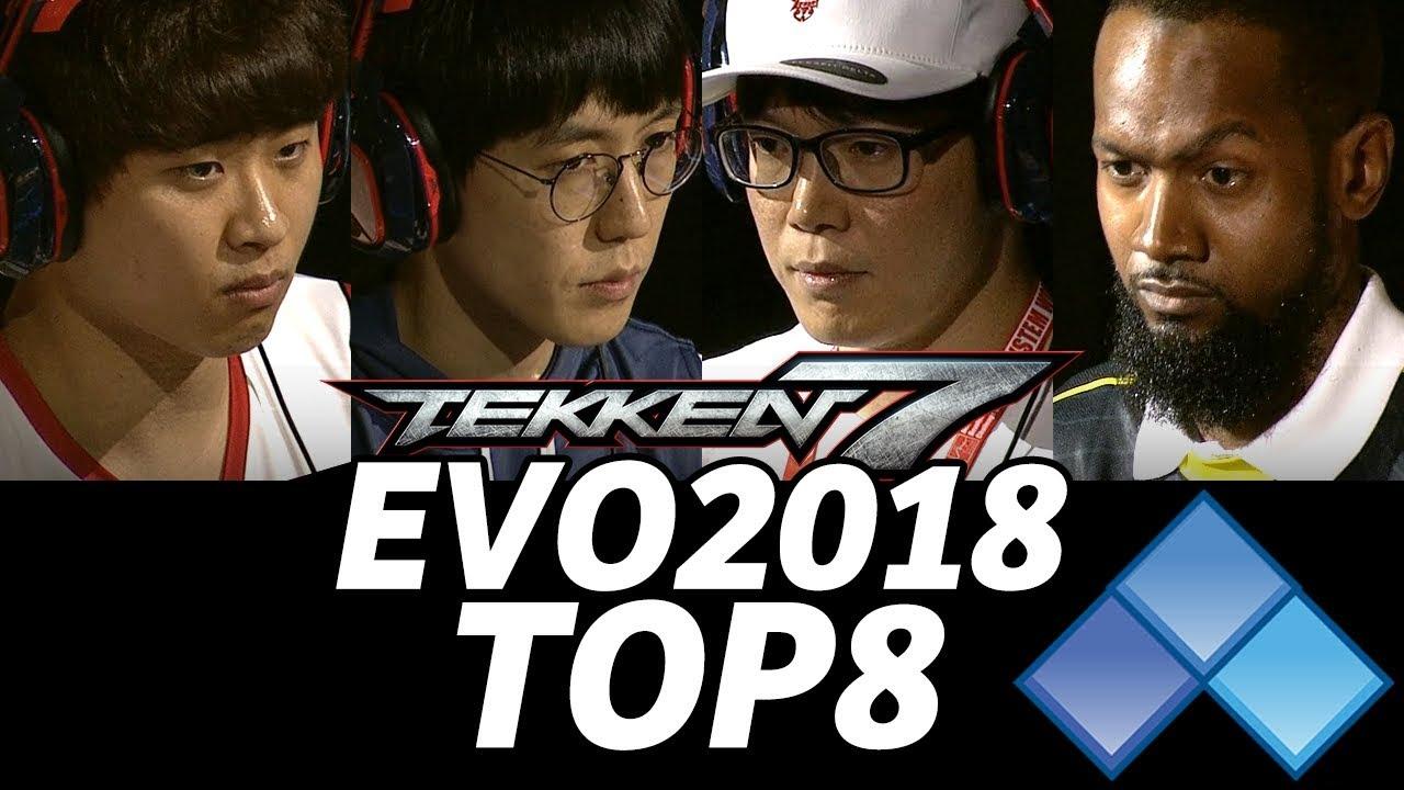 Evo 2018 Tekken7 Top8 Timestamp Qudans Jdcr Lilmajin Lowhigh