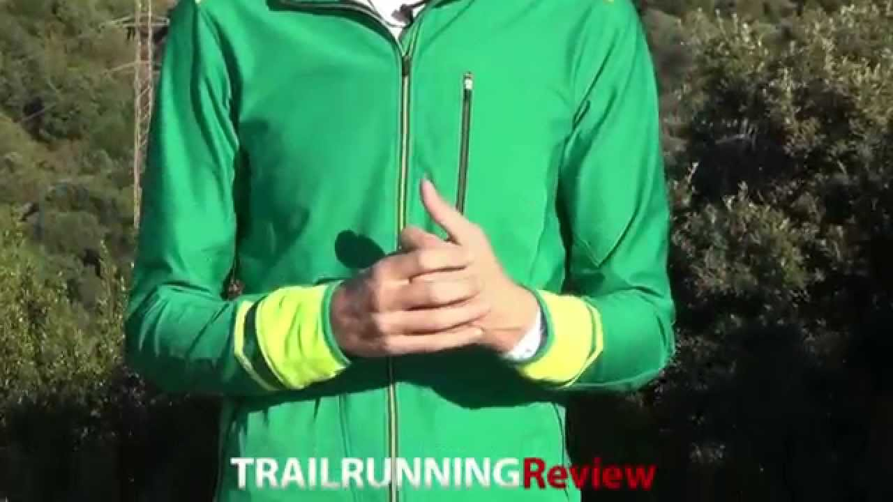 Softshell jacke motion test