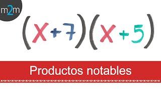 Productos notables │ binomios con término común