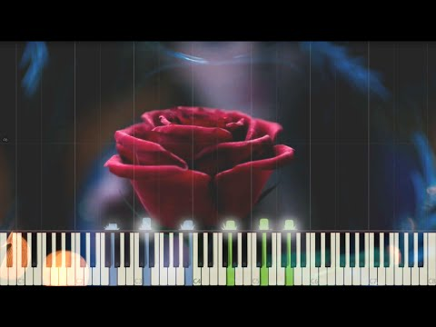 Beauty and the Beast - Teaser Trailer Music - Piano (Synthesia)