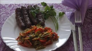 Салат из кабачков и болгарского перца | Можно на зиму
