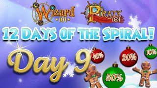 12 Days of The Spiral 2019! (Day 9)