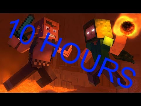 Take Back the Night  A Minecraft Original Music   10 Hours