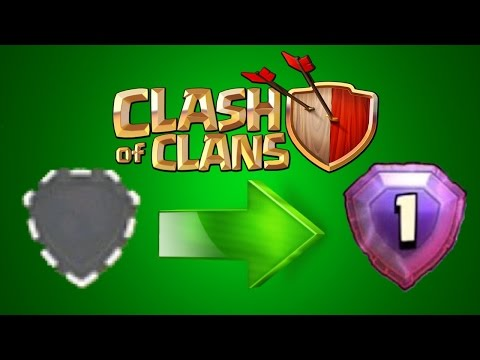 Clash of Clans - How To Gain Trophies Fast & Quick! Easy Trophy Pushing Tutorial #clashofclans