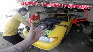 HE ASKED ME TO TEAR APART HIS MUSTANG GT *CHALLENGE ACCEPTED*
