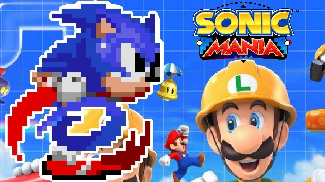 SONIC MANIA in SUPER MARIO MAKER 2?!