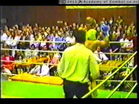 Academy Of Combat: Aaron Hamilton, Late 80s, Thai Boxing