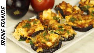 Как вкусно и просто запечь Баклажаны с помидорами и  сыром. Рецепт баклажанов с фетой и пармезаном