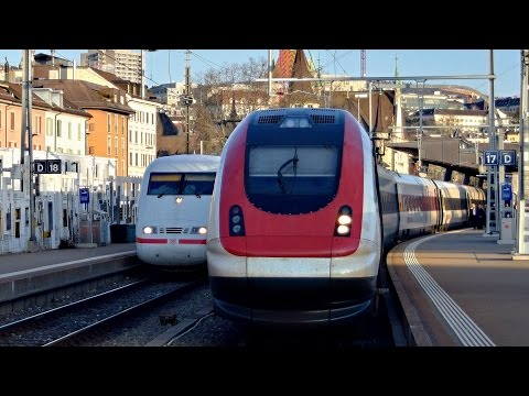 Züge Zürich HB, 16.02.2017