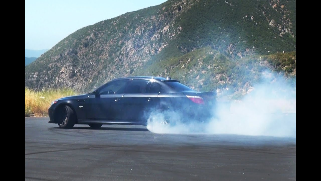 Bmw E60 M5 With Eisenmann Race Exhaust In Action Youtube