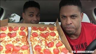 little caesars stuffed crust deep deep dish pizza review hodgetwins