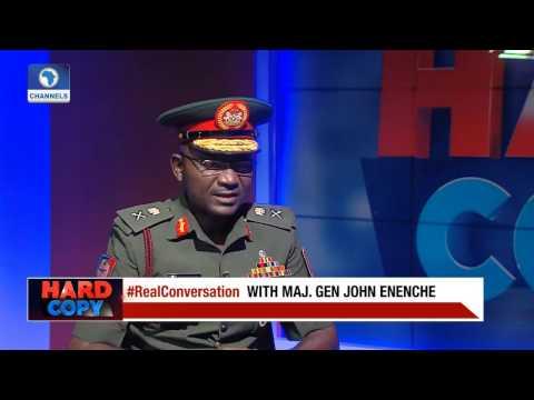 No Part Of Nigeria Today Hosts Boko Haram Flag - Gen. John Enenche