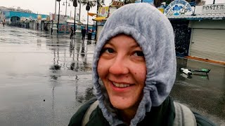 The Venice Beach People Don't See: Homelessness in the Rain!