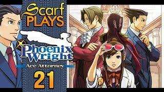 21. Movie Length Investigation - ScarfPLAYS Phoenix Wright: Ace Attorney