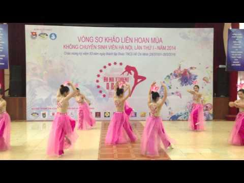 Múa Hồn Sen Việt (FTU) - Ha Noi Student Dance Festival 2014 (part 1)