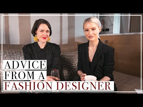 How to become a Fashion Designer   IN THE KNOW with Holly Fulton