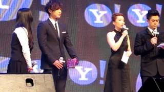 [HJHK]121217 Kim Hyun Joong 金賢重- Yahoo Asia Buzz Awards 2012 Fancam