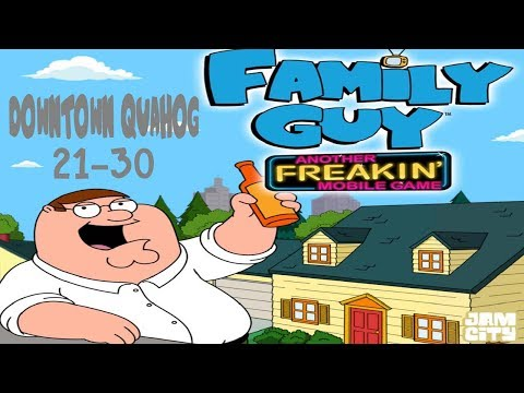 Family Guy - Another Freakin' Mobile Game: Downtown Quahog Levels 21-30