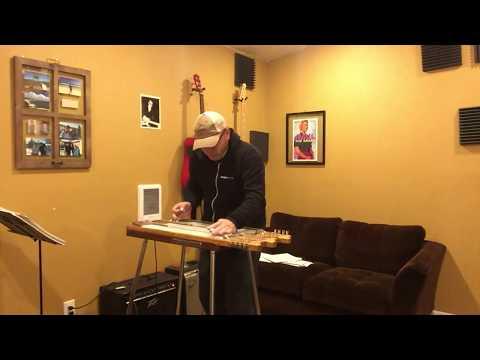 Panhandle Rag on a triple neck magnatone Maestro steel guitar