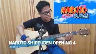 """Naruto Shippuden Opening 4 """"Closer' Acoustic Short Cover"""