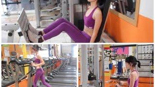 rotina de exercícios na academia