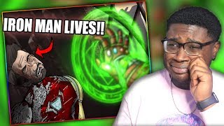 IRON MAN DIDN'T HAVE TO DIE?!   How Avengers Endgame Should Have Ended Reaction!