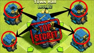 Top Hidden Secret Of TOWN HALL 12 | Secret Of TH 12 | THE GIGA TESLA! | Clash Of Clans