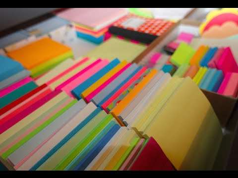 This Girl's Post-It Note Collection Is Crazy