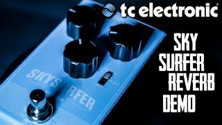 T.C Electronic Sky Surfer Reverb Demo