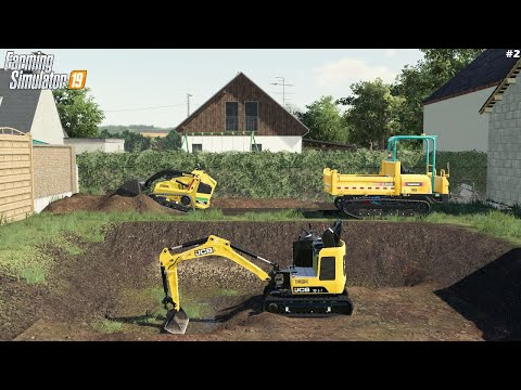 Terrassement Mini Engins   Travaux publics   Farming Simulator 19