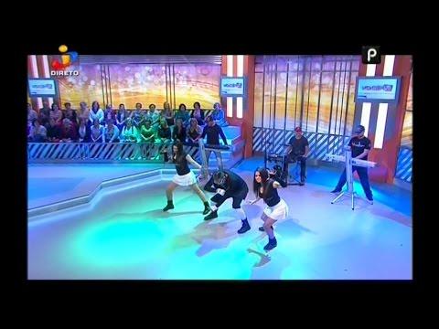 IRAN COSTA - O BICHO (2015 REMIX) - TVI - VOCE NA TV - LISBOA