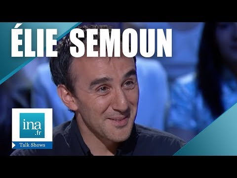 Interview oui mais Elie Semoun - Archive INA
