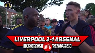 Liverpool 3-1 Arsenal  | We Should Have Started Lacazette, Aubameyang & Pepe!