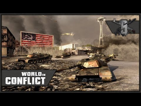 Seattle Finale, Stop the Nuke! - World in Conflict - Missions 19 / 20 (USA)