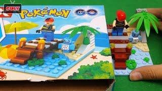 Lego Pokemon Go bắt rùa Kini (Squirtle) cấp 1 đồ chơi trẻ em brick toy for kid
