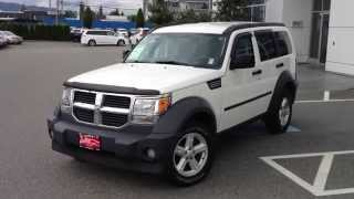 (SOLD) 2007 Dodge Nitro Preview, For Sale At Valley Toyota Scion In Chilliwack B.C. # 14844A